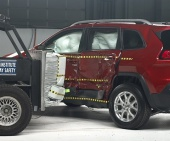 2020 Jeep Cherokee IIHS Side Impact Crash Test Picture