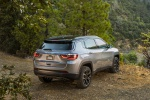 2019 Jeep Compass Limited 4WD in Billet Silver Metallic Clearcoat - Static Rear Right Three-quarter View