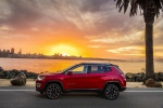 2019 Jeep Compass Limited 4WD in Redline Pearlcoat - Static Side View
