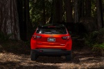 2019 Jeep Compass Trailhawk 4WD in Spitfire Orange Clearcoat - Static Rear View