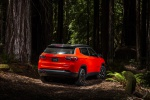 2019 Jeep Compass Trailhawk 4WD in Spitfire Orange Clearcoat - Static Rear Right View