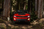 2019 Jeep Compass Trailhawk 4WD in Spitfire Orange Clearcoat - Static Frontal View