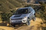2019 Jeep Compass Trailhawk 4WD in Billet Silver Metallic Clearcoat - Static Front Left View
