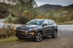 2019 Jeep Compass Latitude 4WD in Granite Crystal Metallic Clearcoat - Static Front Left Three-quarter View