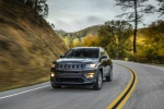 2019 Jeep Compass Latitude 4WD in Granite Crystal Metallic Clearcoat - Static Front Left View