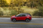 2020 Jeep Compass Limited 4WD in Redline Pearlcoat - Static Left Side View