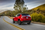 2020 Jeep Compass Limited 4WD in Redline Pearlcoat - Static Rear Left View