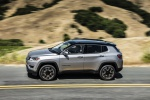 2020 Jeep Compass Limited 4WD in Billet Silver Metallic Clearcoat - Static Side View