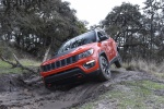 2020 Jeep Compass Trailhawk 4WD in Spitfire Orange Clearcoat - Static Front Left View