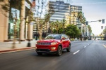 2020 Jeep Compass Limited 4WD in Redline Pearlcoat - Static Front Left Three-quarter View