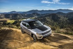 2020 Jeep Compass Trailhawk 4WD in Billet Silver Metallic Clearcoat - Static Front Right Three-quarter View