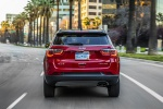 2020 Jeep Compass Limited 4WD in Redline Pearlcoat - Static Rear View