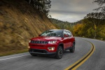 2020 Jeep Compass Limited 4WD in Redline Pearlcoat - Static Front Left View