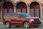 2010 Jeep Grand Cherokee SRT8 in color - Static Front Right Three-quarter View