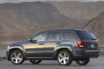 2010 Jeep Grand Cherokee SRT8 in color - Static Rear Left Three-quarter View