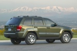 2010 Jeep Grand Cherokee in color - Static Rear Right Three-quarter View