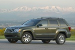 2010 Jeep Grand Cherokee in color - Static Front Left Three-quarter View