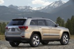 2012 Jeep Grand Cherokee Limited 4WD in White Gold Clearcoat - Static Rear Right Three-quarter View