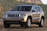 2012 Jeep Grand Cherokee Limited 4WD in White Gold Clearcoat - Static Front Left View