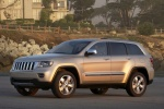 2012 Jeep Grand Cherokee Limited 4WD in White Gold Clearcoat - Static Front Left Three-quarter View