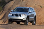 2013 Jeep Grand Cherokee in Bright Silver Metallic Clearcoat - Static Front Left View