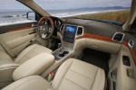 2013 Jeep Grand Cherokee Overland 4WD Interior