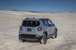 2016 Jeep Renegade Trailhawk 4WD in Glacier Metallic - Static Rear Right View