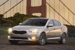 2014 Kia Cadenza in Satin Metal - Static Front Left Three-quarter View