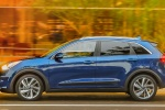 2018 Kia Niro Touring Hybrid in Deep Cerulean - Driving Side View