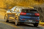 2018 Kia Niro Touring Hybrid in Deep Cerulean - Driving Rear Left View