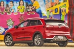 2018 Kia Niro Touring Hybrid in Crimson Red - Static Rear Left Three-quarter View