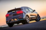 2018 Kia Niro Plug-In Hybrid in Metal Stream - Static Rear Right View