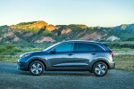 2018 Kia Niro Plug-In Hybrid in Metal Stream - Static Side View