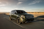 2020 Kia Telluride AWD in Dark Moss - Driving Front Right View