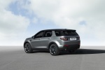 2016 Land Rover Discovery Sport HSE Luxury in Scotia Gray Metallic - Static Rear Left Three-quarter View