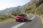 2020 Land Rover Discovery Sport P290 HSE R-Dynamic in Firenze Red Metallic - Driving Front Left View