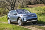 2020 Land Rover Discovery Sport P250 S in Byron Blue Metallic - Driving Front Right Three-quarter View