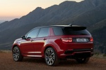2020 Land Rover Discovery Sport P290 HSE R-Dynamic in Firenze Red Metallic - Static Rear Left Three-quarter View