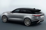 2018 Land Rover Range Rover Velar P380 HSE R-Dynamic in Silicon Silver - Static Rear Left Three-quarter View