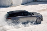 2019 Land Rover Range Rover Velar P380 HSE R-Dynamic in Silicon Silver Premium Metallic - Driving Rear Right Three-quarter View