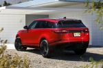 2019 Land Rover Range Rover Velar P250 SE R-Dynamic in Firenze Red Metallic - Static Rear Left View