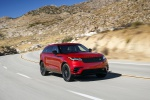 2019 Land Rover Range Rover Velar P250 SE R-Dynamic in Firenze Red Metallic - Driving Front Right View