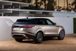 2019 Land Rover Range Rover Velar P380 HSE R-Dynamic in Silicon Silver Premium Metallic - Static Rear Right Three-quarter View