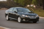 2010 Lexus ES 350 in Peridot Mica - Driving Front Right Three-quarter View