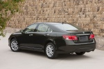 2011 Lexus ES 350 in Peridot Mica - Static Rear Left Three-quarter View