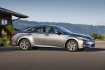 2014 Lexus ES 350 Sedan in Nebula Gray Pearl - Static Side View