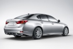 2015 Lexus GS 350 Sedan in Liquid Platinum - Static Rear Right Three-quarter View