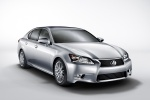 2015 Lexus GS 350 Sedan in Liquid Platinum - Static Front Right Three-quarter View