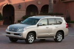 2012 Lexus GX460 in Satin Cashmere Metallic - Static Front Left Three-quarter View