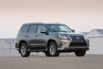 2017 Lexus GX460 in Nebula Gray Pearl - Static Front Right Three-quarter View